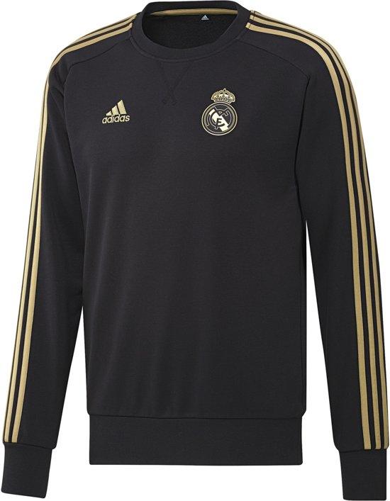 adidas Real Madrid Trui 2019/2020 Heren - Zwart - Maat S