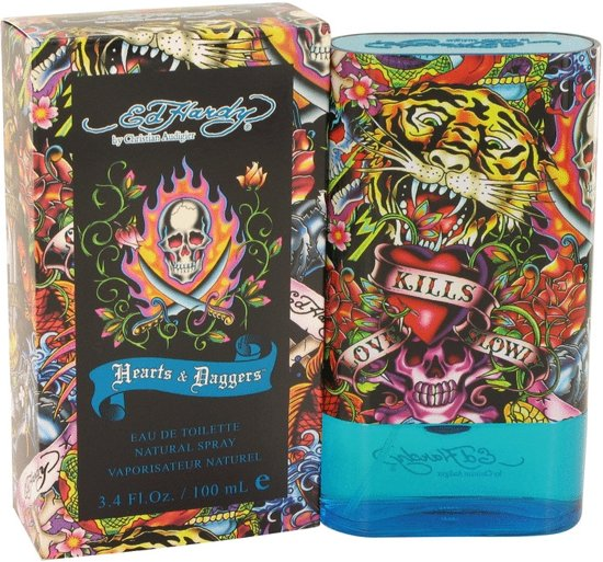 Ed Hardy Hearts & Daggers for Men - 100 ml - Eau de toilette