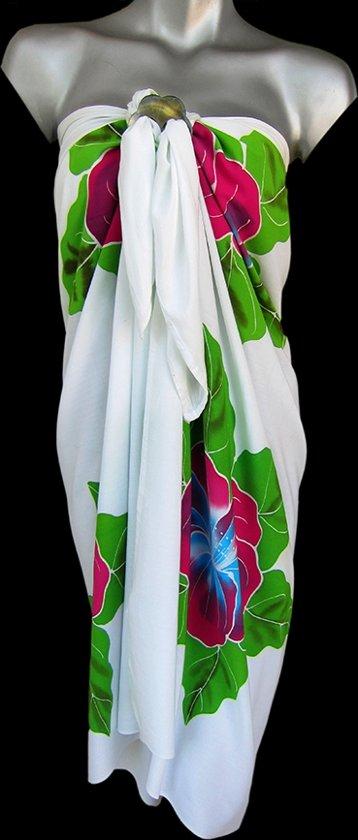 f75a97d19c950b Batik Sarong Roze Bloemen