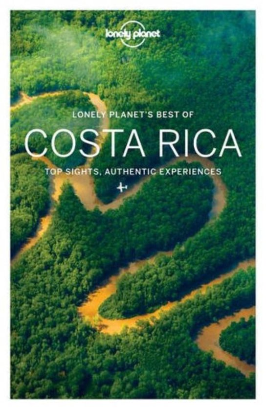 Lonely Planet Best of Costa Rica cover