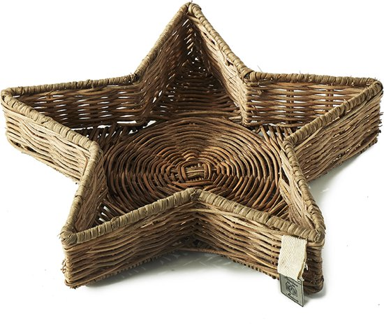 Riviera Maison - RR Winter Star Tray - M - Dienblad