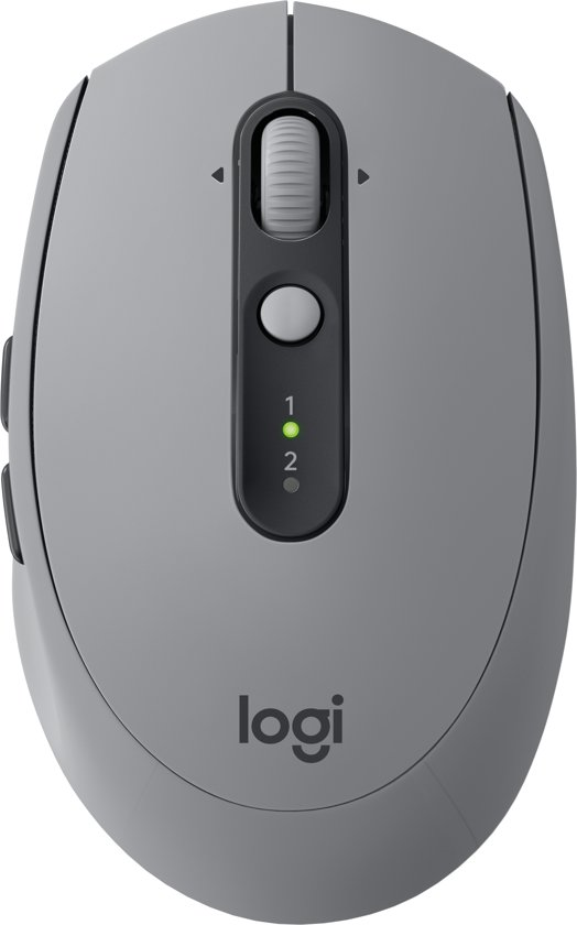 Logitech M590 Multi-Device - Silent Draadloze Muis - Grijs
