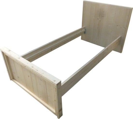 Eenpersoonsbed van steigerhout bouwpakket for Bouwpakket steigerhout