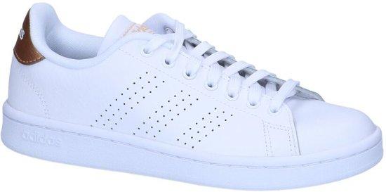 0e639c96218df6 bol.com | adidas Advantage Sneakers Dames - White - Maat 38