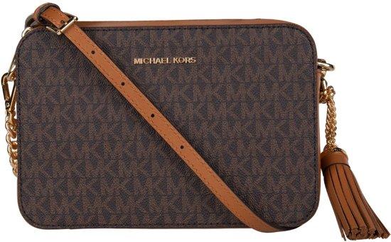 Michael Kors Camera Bag M Dames Crossbodytas Bruin
