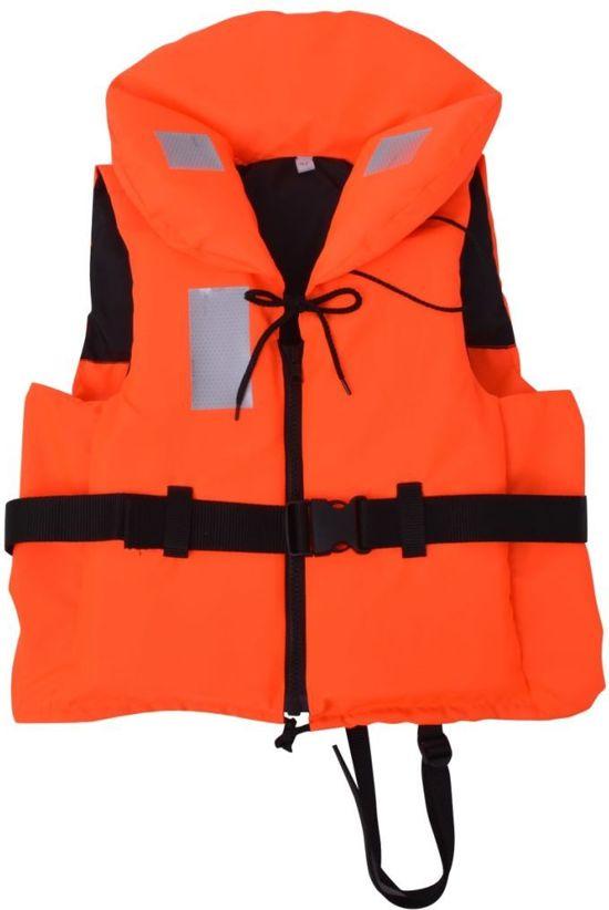 Reddingsvest Oranje 60-70 kg 100N - Veiligheidsvest - Zwemvest - Reddingvest