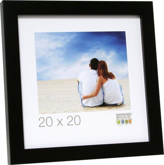 Bolcom Deknudt Frames Moderne Fotolijst Zwart Hout Fotomaat