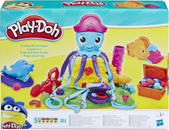 Play-Doh Cranky de Octopus - Klei