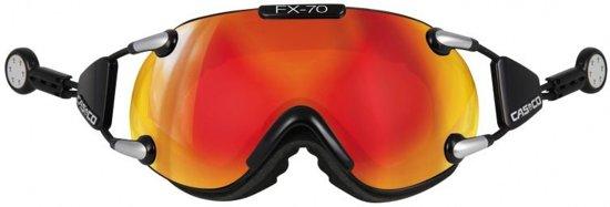 Casco FX-70L Carbonic Skibril Unisex L Black Orange