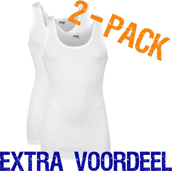 12fafce4901 bol.com | Beeren heren hemd | MAAT XL | 2-pack | wit