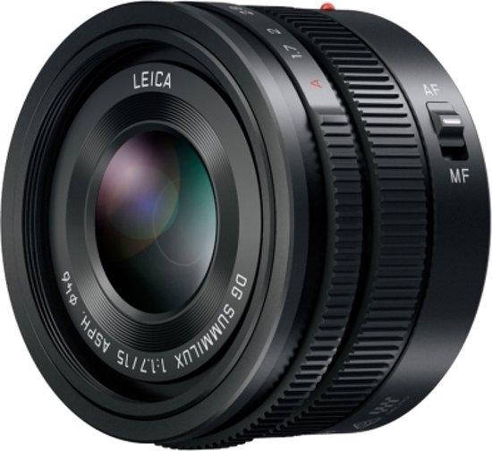 Panasonic Leica DG Summilux 15mm f/1,7 ASPH Zwart
