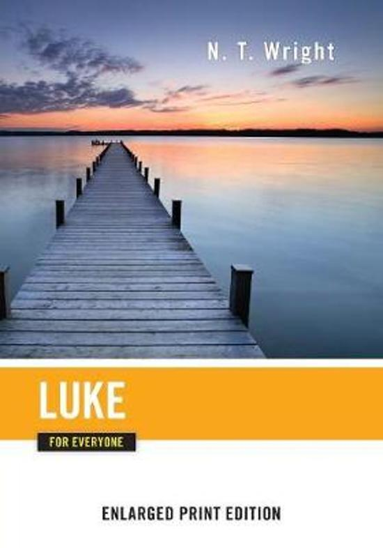 Luke for Everyone-Enlarged Print Edition