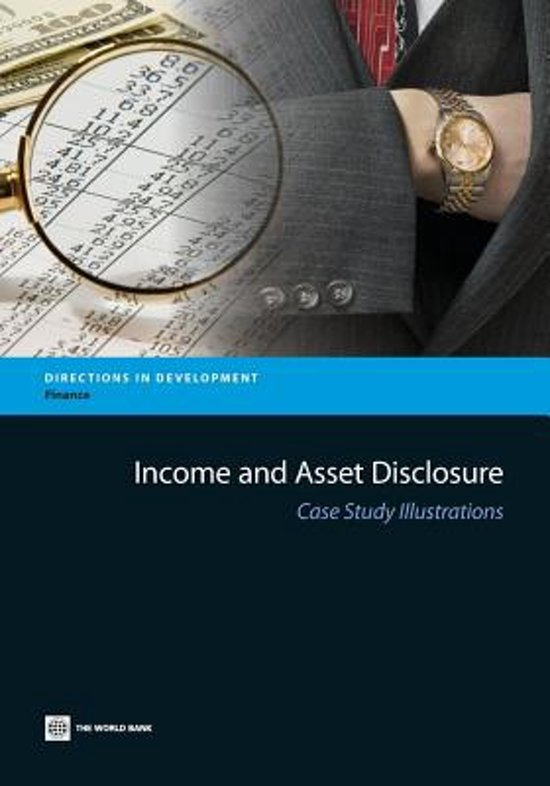 Income and Asset Disclosure