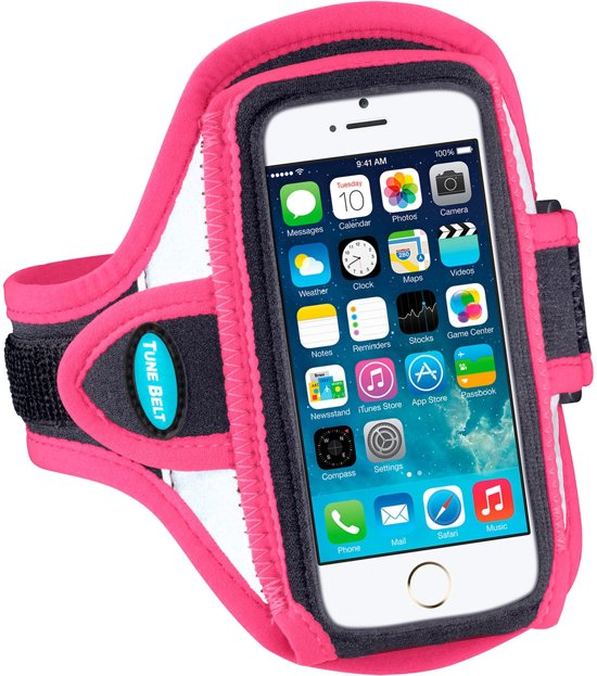 Tune Belt AB87RP Reflective Sport Armband iPhone 5 & 5S Pink