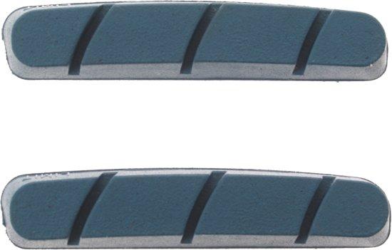 Miche Remblokrubbers Campa V-brake 55 X 11 Mm Turquoise 40 Stuks