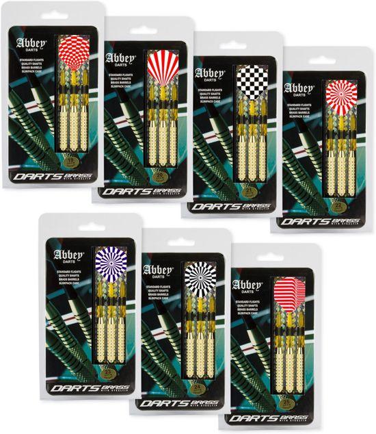 Abbey Darts  Dartpijlenset Brons - 23 gram - Set van 3