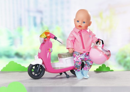 BABY born City Deluxe Scooter Combo 43cm
