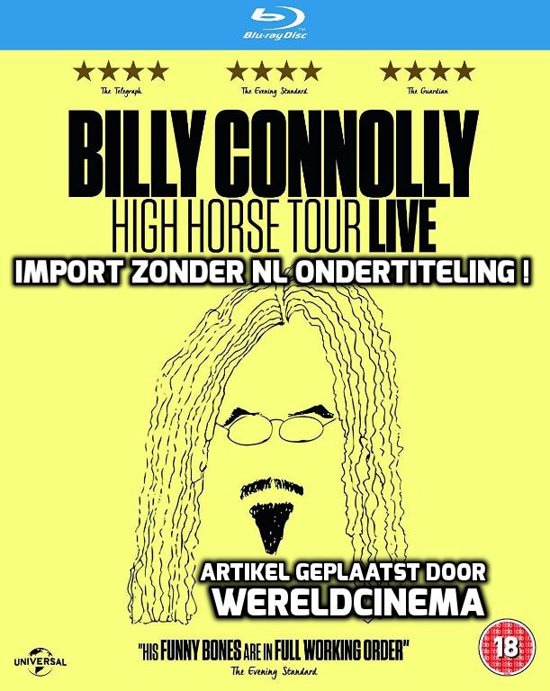 Billy Connolly High Horse Tour Dvd