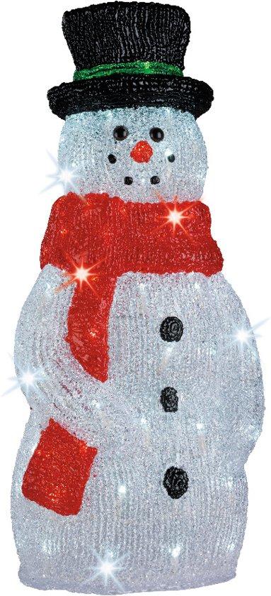 Bolcom Verlichte Sneeuwpop Voor Buiten 120 Cm