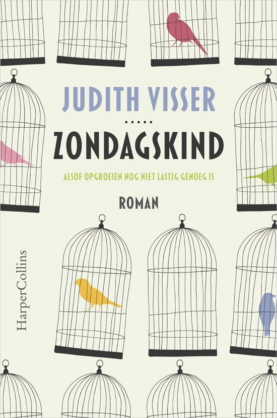 Boek cover Zondagskind van Judith Visser (Onbekend)