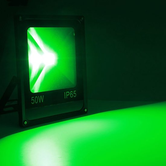bol.com | 50W LED Beveiligingslamp Groen Licht