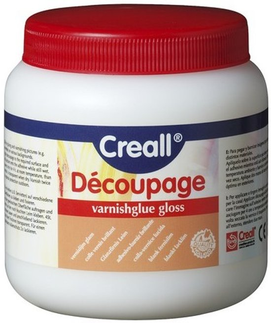 Decoupage Lijm - Glans - 250ml - Creall - Vernislijm