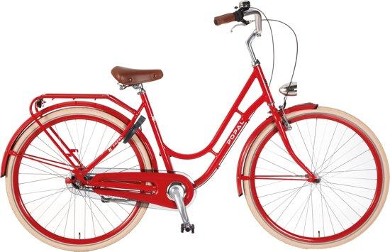 Popal damesfiets Swing N3 rood 50 cm