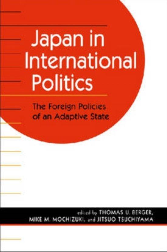 Japan in International Politics