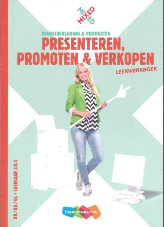 Mixed Presenteren promoten verkopen vmbo Leerwerkboek