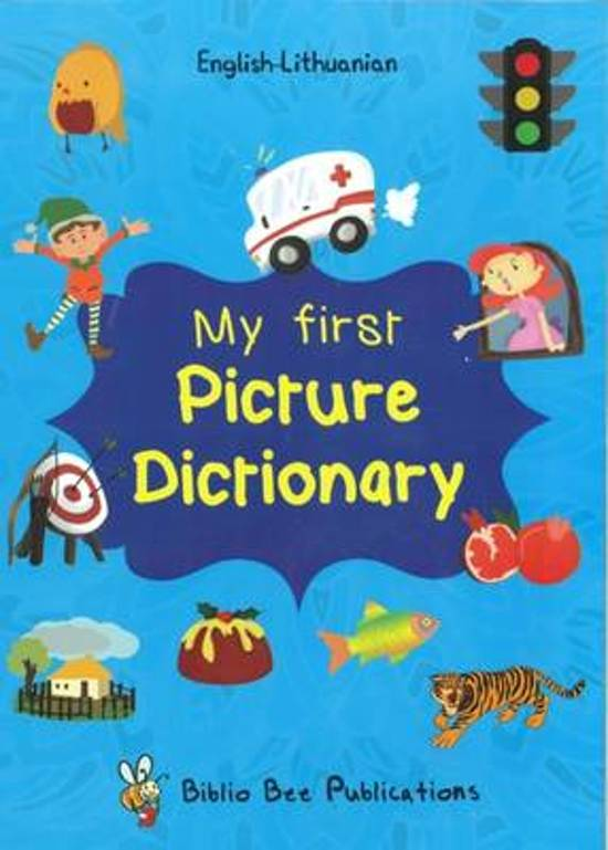 My First Picture Dictionary English-Lithuanian