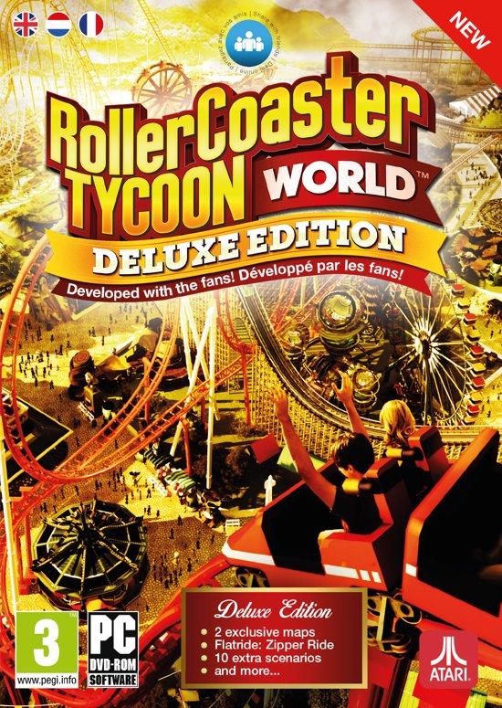 RollerCoaster Tycoon World Deluxe - Windows