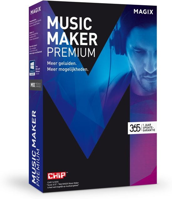 Magix Music Maker 2016 Premium - Nederlands / Windows
