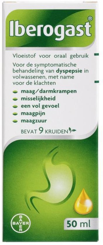 Iberogast Solution - 50 Ml - kruidengeneesmiddel