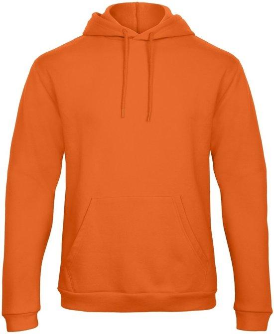 345e2e8b141 Nike Sportswear Tech Fleece Hoody Heren Sporttrui - Maat M - Mannen -  grijs/zwart. Senvi Authentic Hoodie Kleur Oranje - Maat L