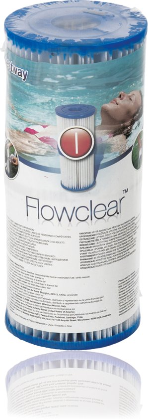 Bestway Filter Cartridge Zwembadfilter Type I - 58093