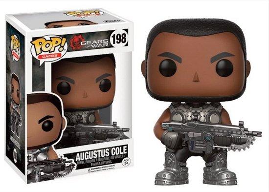 Funko Pop! Games Gears Of War Augustus Cole - Verzamelfiguur