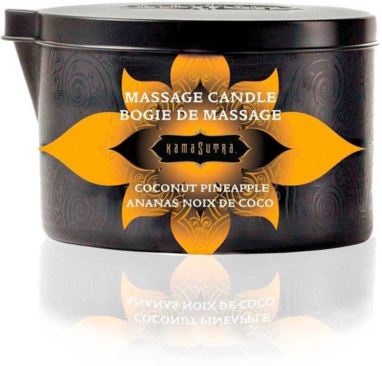 Kamasutra Coconut Pineapple Massagekaars