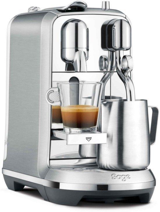Nespresso Sage Creatista Plus SNE800BSS4EEU1 - Koffiecupmachine - RVS
