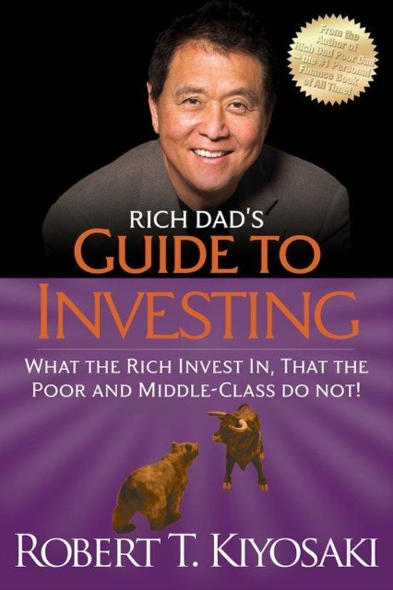 Boek cover Rich Dads Guide to Investing van Robert Kiyosaki (Paperback)