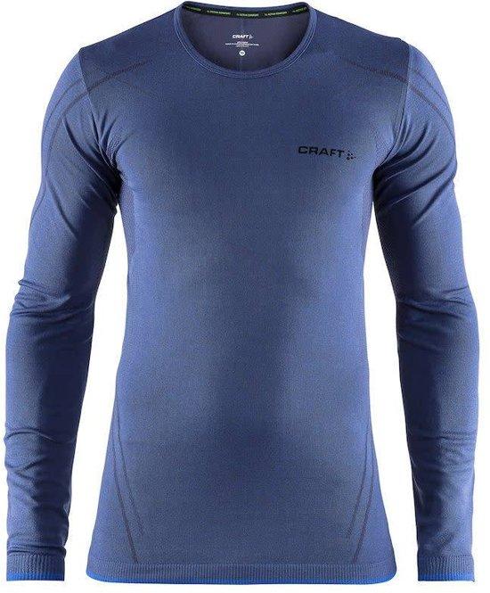 Craft Active Comfort Roundneck Ls Sportshirt Heren - Maritime