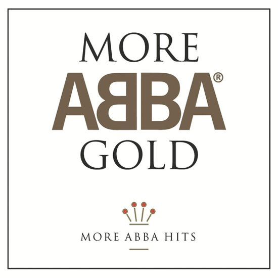 CD cover van More Abba Gold van ABBA