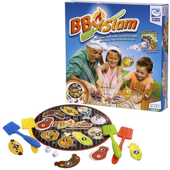 Clown Bbq Slam gezelschapsspel