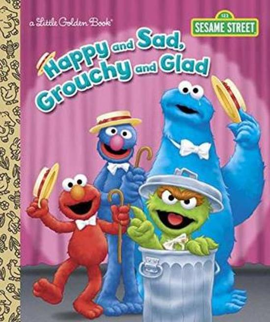 Boek cover LGB Happy And Sad, Grouchy And Glad (Sesame Street) van Constance Allen (Hardcover)