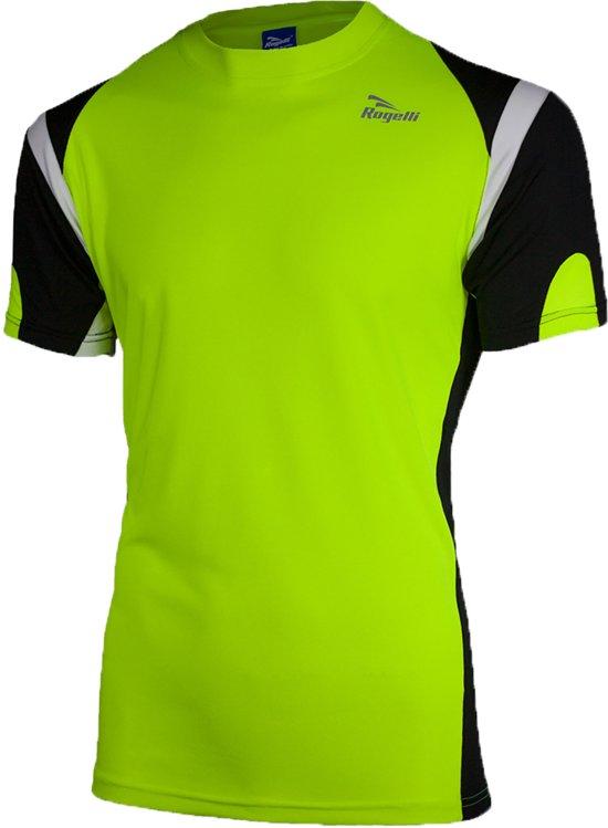 Rogelli Dutton T-Shirt SS - Sportshirt - Geel