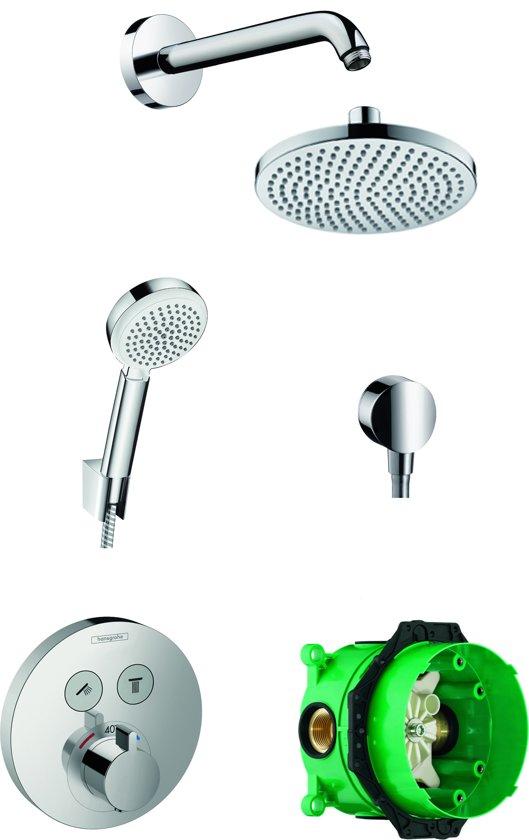 Hansgrohe ShowerSelect S Regendouche inbouwset