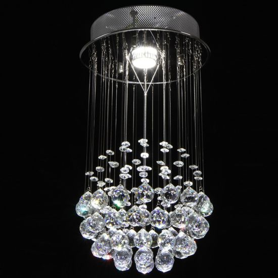 Verwonderlijk bol.com | Kroonluchter, plafondlamp, hanglamp, lamp, glazen OM-46
