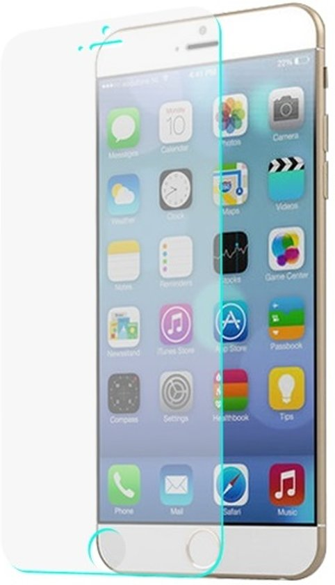 Telefoonhoesje.nl Anti barst screenprotector ( tempered glass ) iPhone 6 / 6S