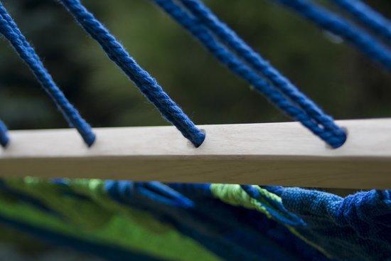Potenza Titanium- verzinkte massieve Tweepersoons Hangmatset /2- persoons Hangmat met standaard (draagkracht:350 kg)