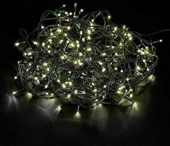led kerstboomverlichting lichtsnoer - binnen en buiten - warm wit - 50 meter
