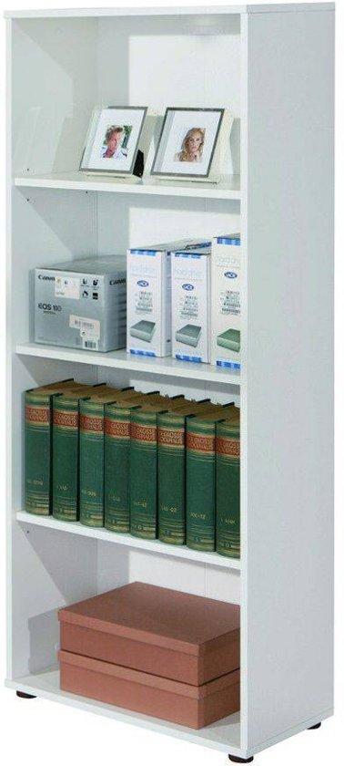 interlink sas arco boekenkast wit hout